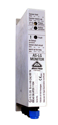 LG-AS customer tank overfill prevention monitor